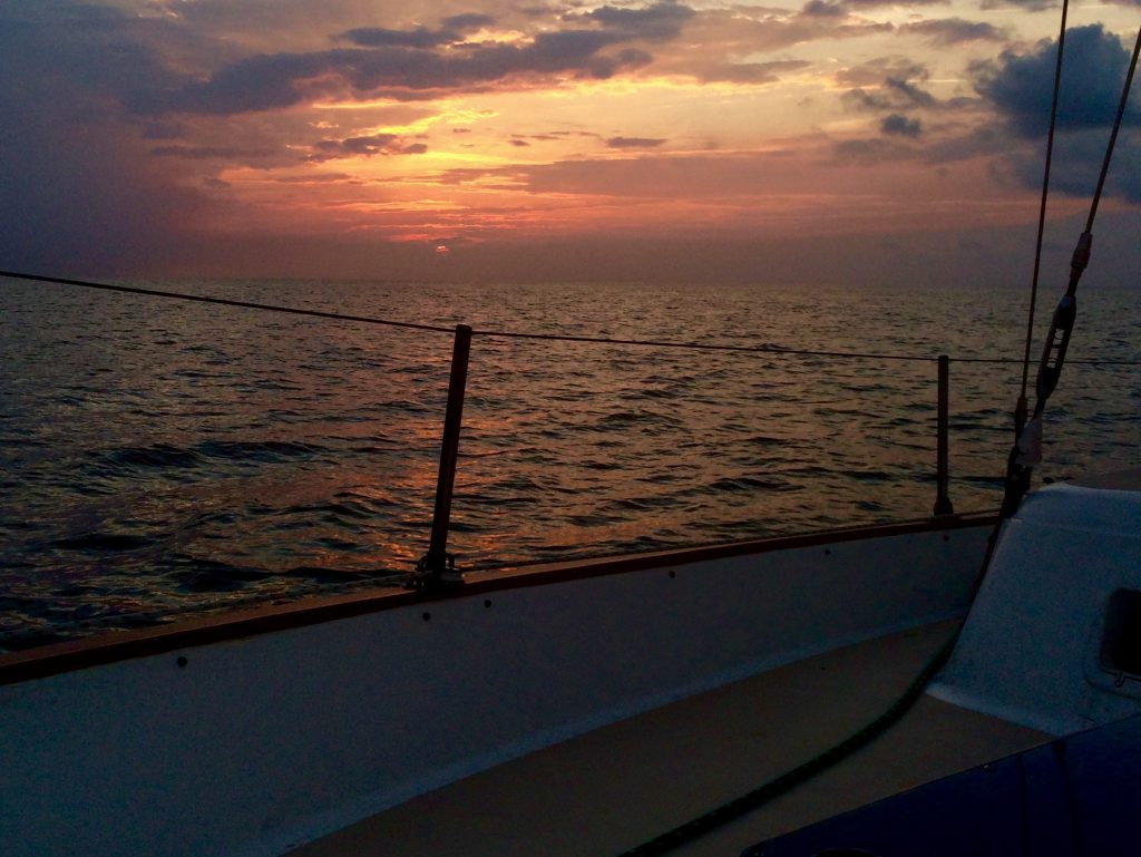 Sailing nags head obx