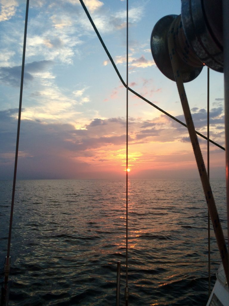 Sailing obx kitty hawk